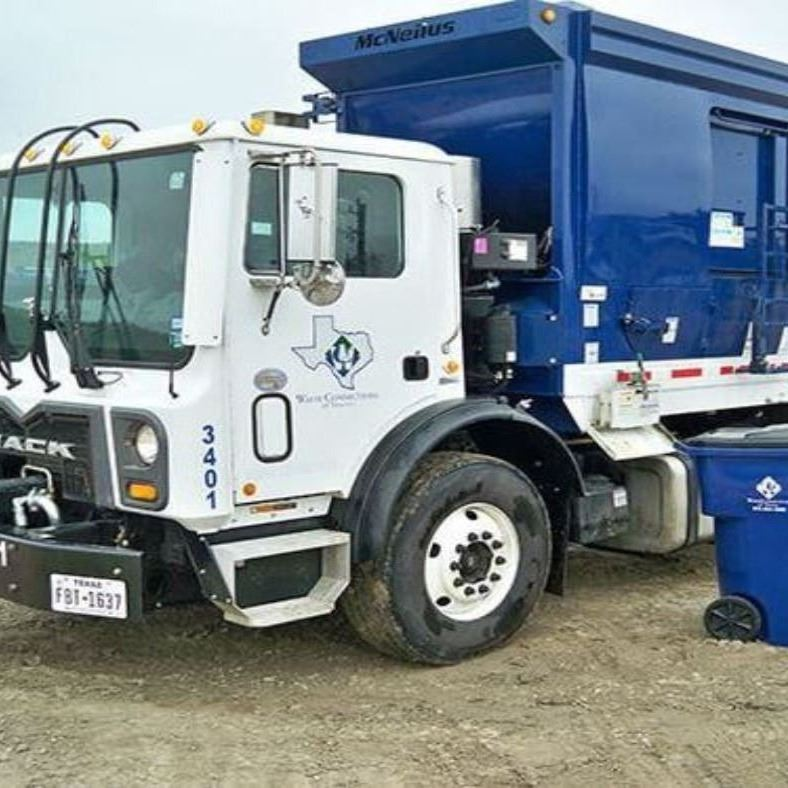 Waste Connections residential-truck
