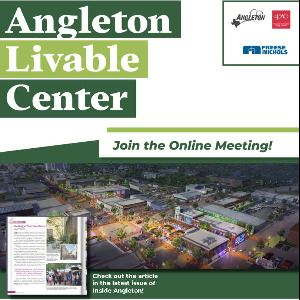 Livable Centers Town Hall Flyer