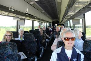 Group on Bus Tour